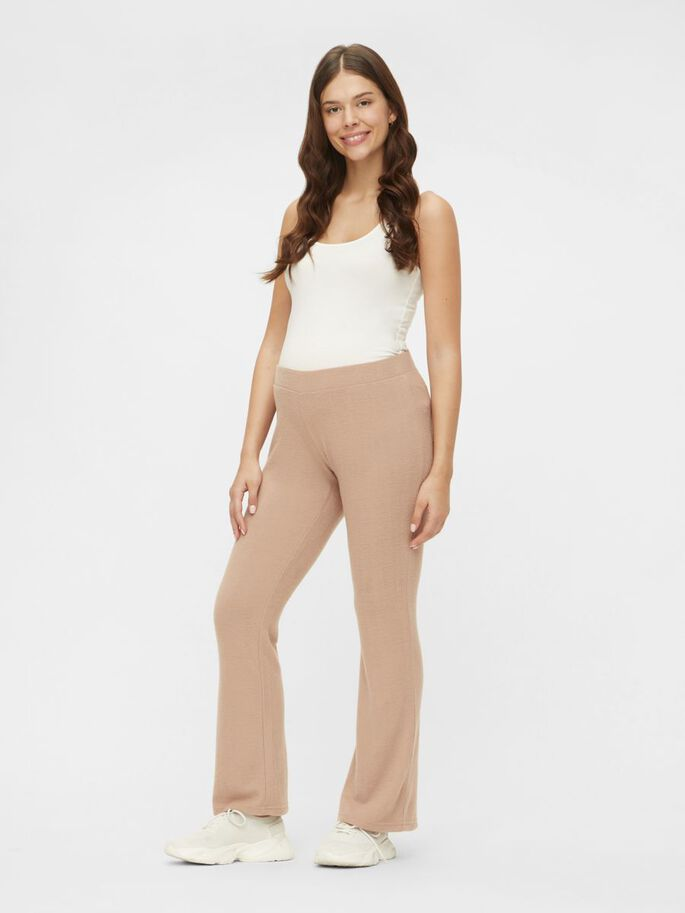 PCMPAM PANTALON GROSSESSE, Warm Taupe, large