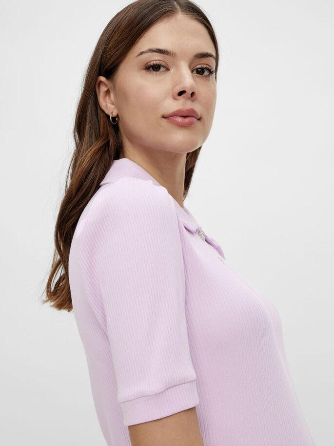 PCMSUMI MATERNITY TOP, Orchid Bloom, large