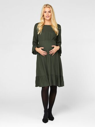 MANCHES 3/4 VISCOSE ROBE GROSSESSE