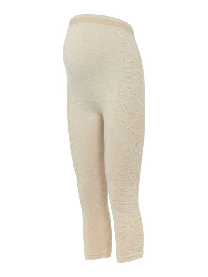 MLELISA MATERNITY LEGGINGS, Humus, large