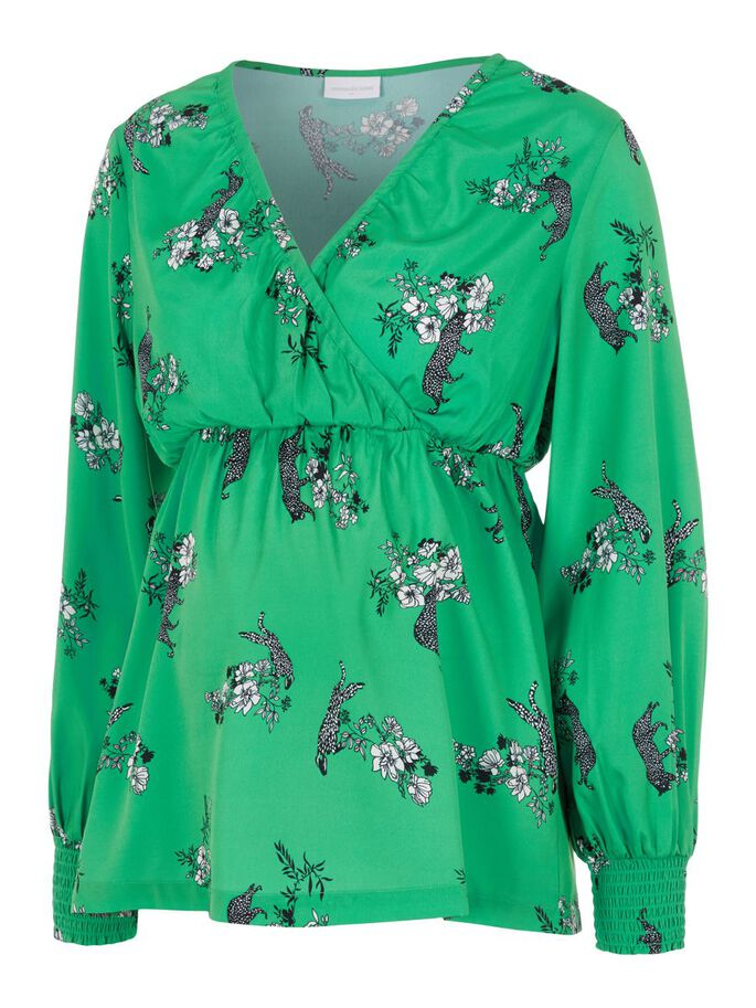 MLFRANCKA TOP D'ALLAITEMENT, Holly Green, large