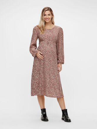 PCMDORA MATERNITY MIDI DRESS