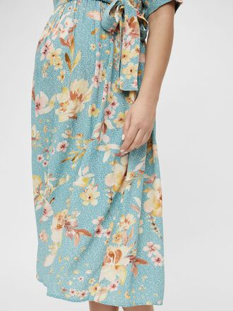 MLVAIANA MATERNITY MIDI DRESS