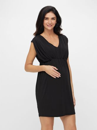 LACE BACK MATERNITY DRESS