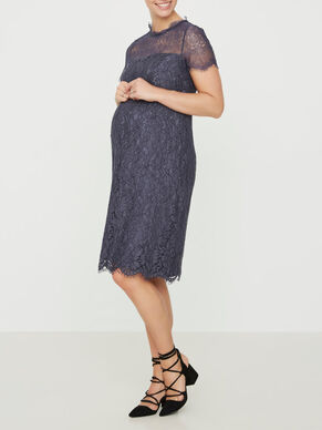 LACE MATERNITY DRESS