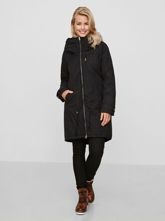 2-IN-1 PADDED WINTER MATERNITY COAT