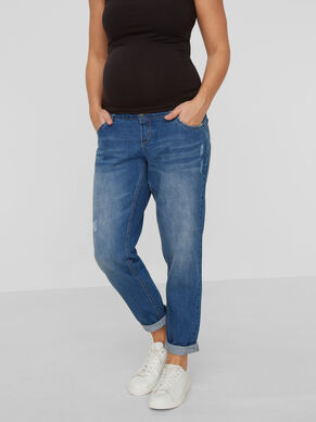 BOYFRIEND FIT MATERNITY JEANS