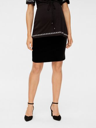 BODYCON RIB MATERNITY SKIRT