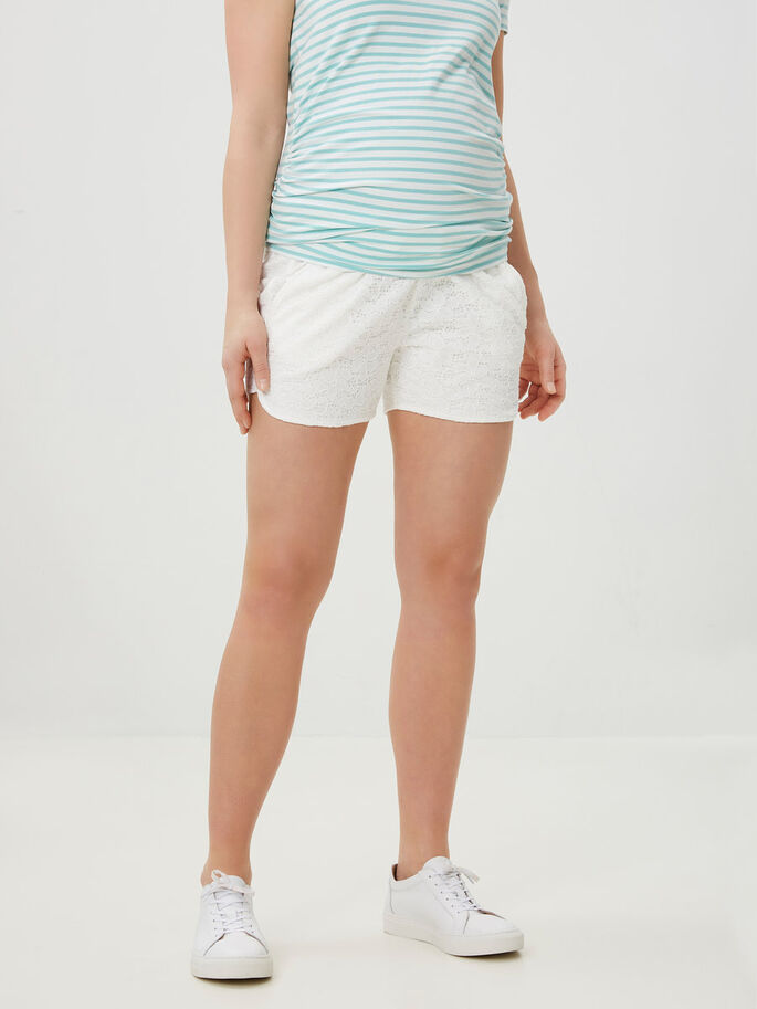 JERSEY SHORT GROSSESSE, Snow White, large