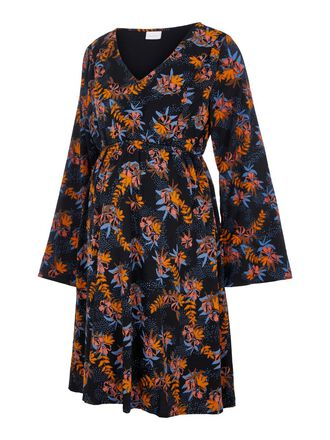 FLORAL PRINTED 2-IN-1 MATERNITY DRESS
