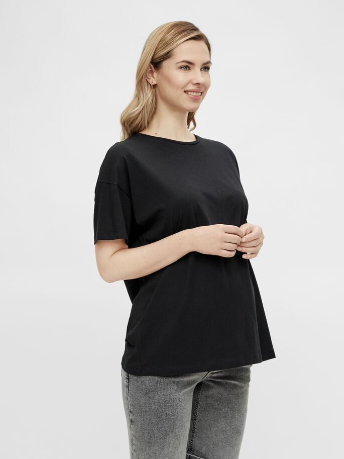 MLMARYANN 2-PACK MATERNITY TOP, Black, large