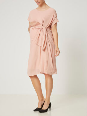 WOVEN MATERNITY DRESS