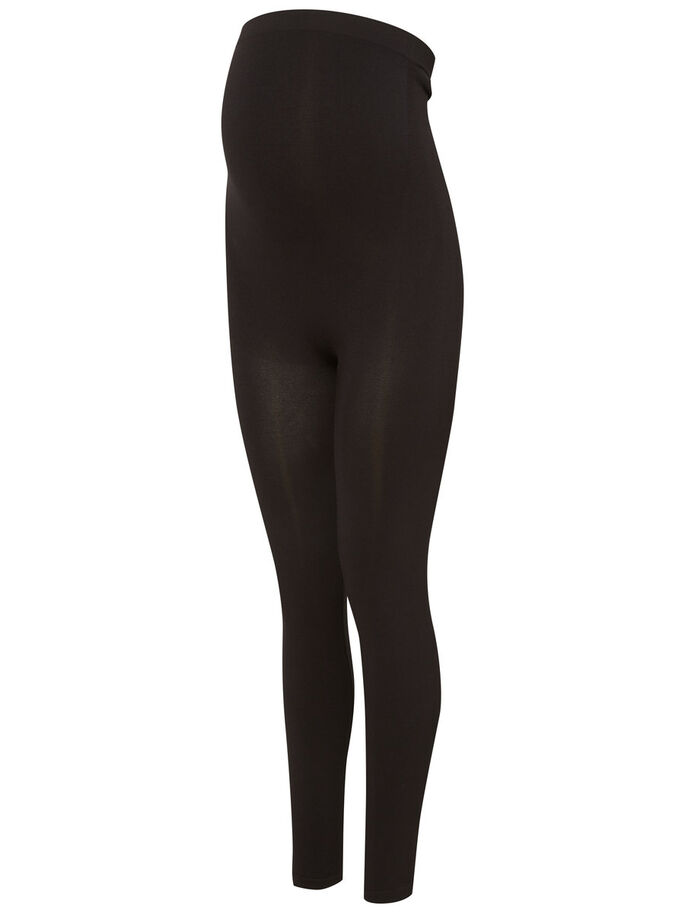 BASIC MATERNITY LEGGINGS, Black, large