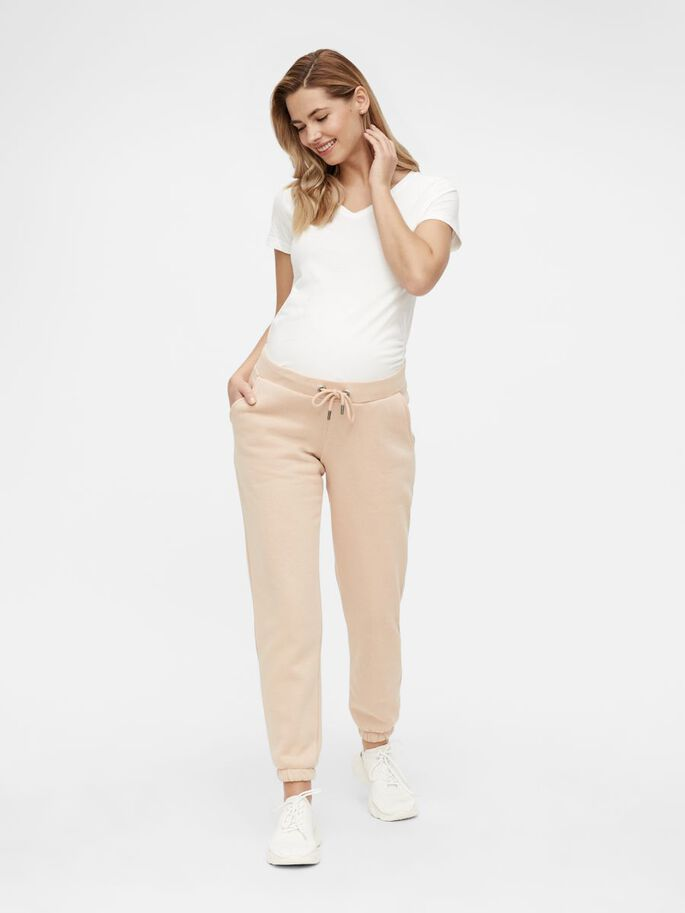 MLCHRISTEL UMSTANDS-SWEATPANTS, Peach Pink, large