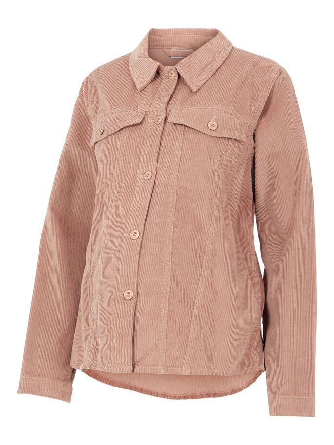 PCMPOLLY MATERNITY SHIRT, Warm Taupe, large