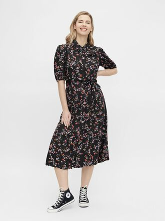 PCMLALA MATERNITY MIDI DRESS
