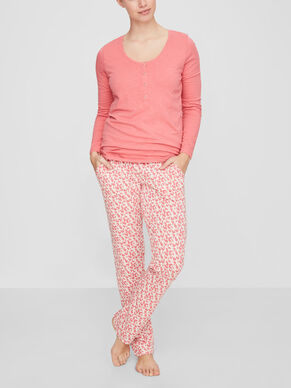 JERSEY NURSING NIGHTWEAR