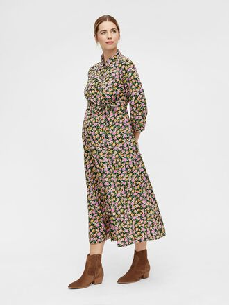 PCMROSIA MATERNITY MIDI DRESS