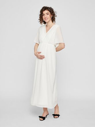 CHIFFON NURSING MAXI DRESS