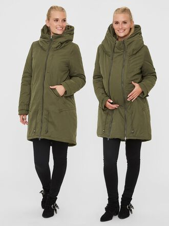 PADDED 2-IN-1 MATERNITY COAT