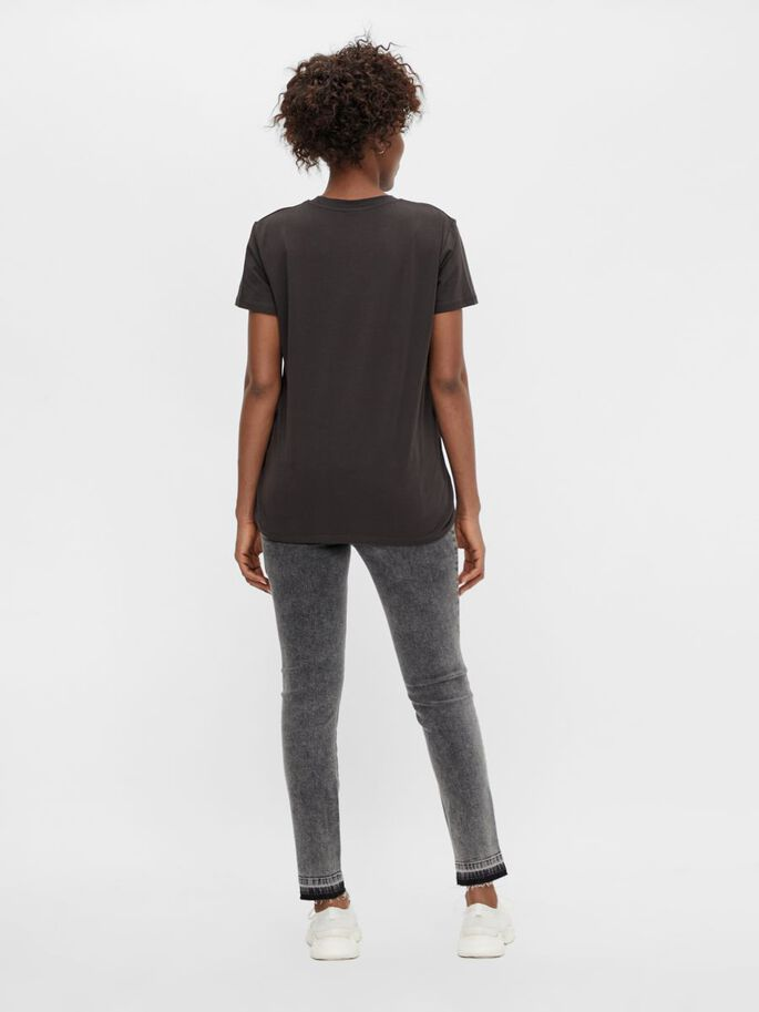 MLEDIE UMSTANDS-T-SHIRT, Espresso, large