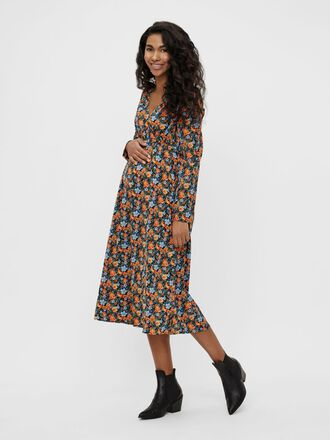 MLSIGA MATERNITY MIDI DRESS