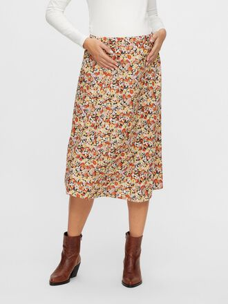 FLORAL PRINTED MATERNITY SKIRT