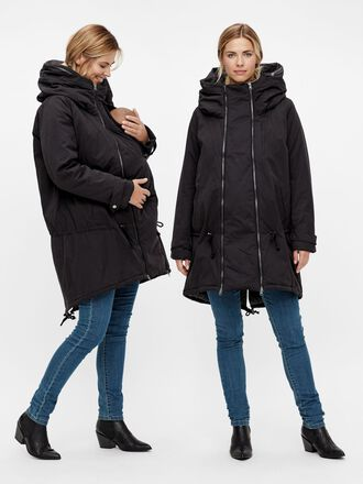 PADDED WINDPROOF 3-IN-1 MATERNITY COAT