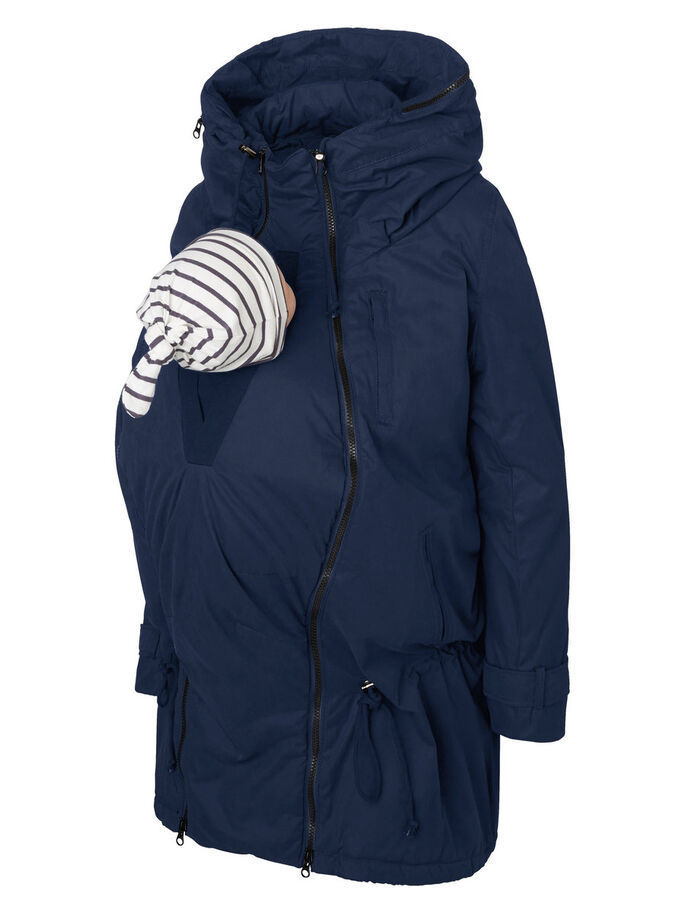 c8d705eee 3 in 1 padded winter maternity coat