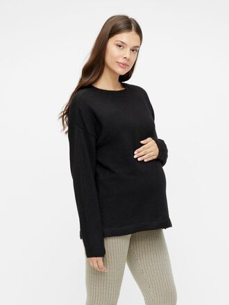 KNITTED OVERSIZED MATERNITY PULLOVER