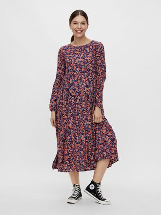 PCMLUBBIE MATERNITY MIDI DRESS