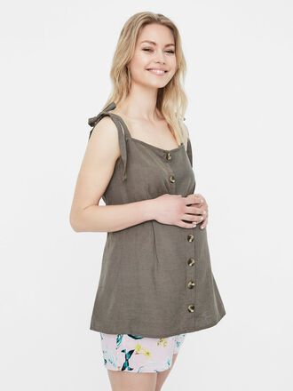 BOW STRAP MATERNITY TOP