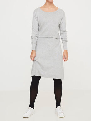 KNITTED NURSING DRESS