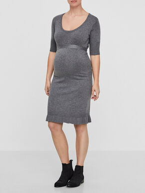 2/4 SLEEVED MATERNITY DRESS