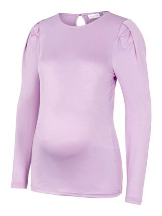 LONG SLEEVED JERSEY MATERNITY TOP