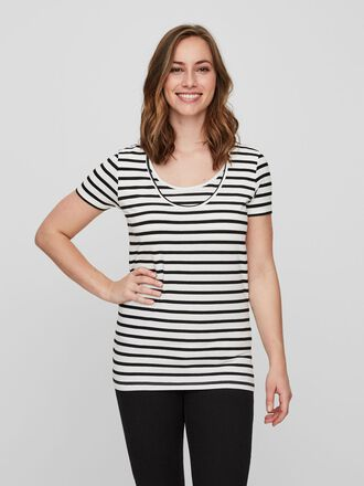2-PACK NURSING TOP, SHORT SLEEVED