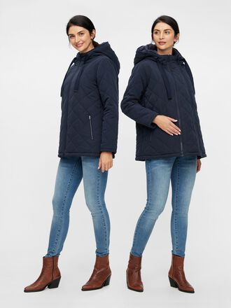 QUILTED 2-IN-1 MATERNITY JACKET