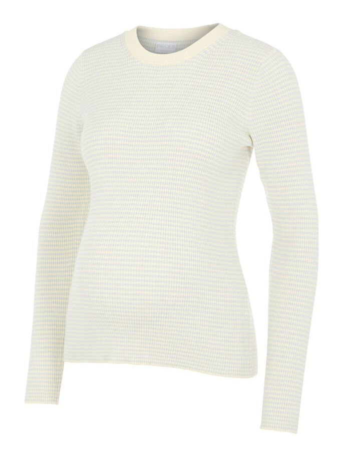 PCMPENNY MATERNITY PULLOVER, Almond Oil, large