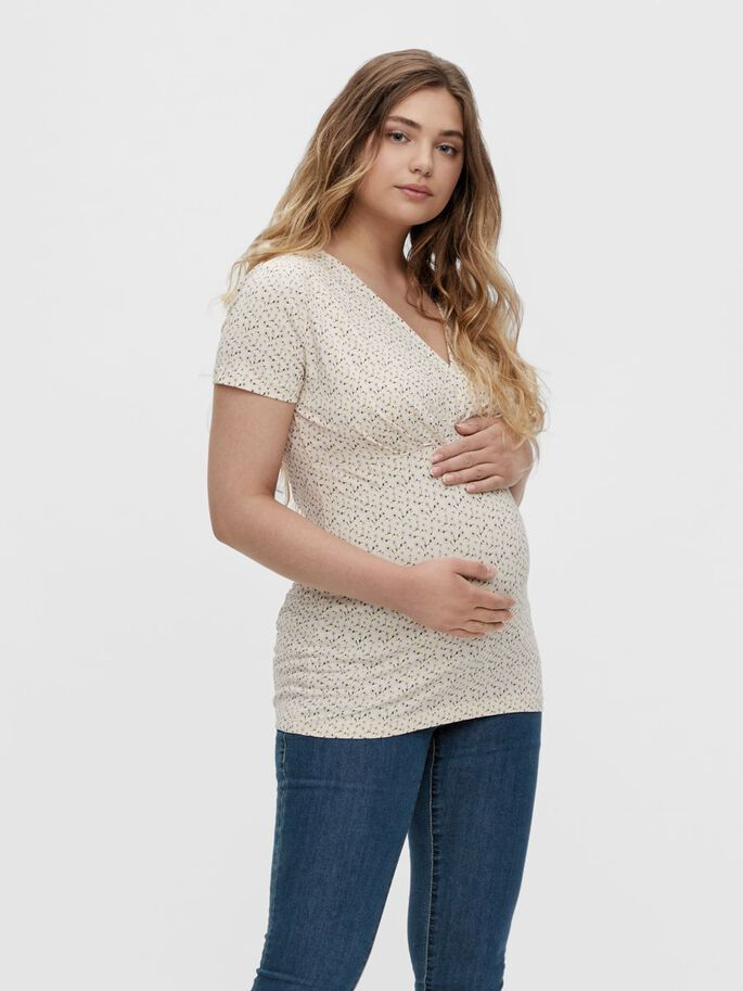 MLFIA 2-PACK 2-IN-1 MATERNITY TOP, Whitecap Gray, large