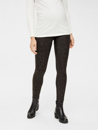 COATED SLIM FIT MATERNITY JEANS