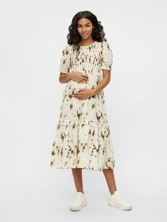 MLZARAH MATERNITY MIDI DRESS