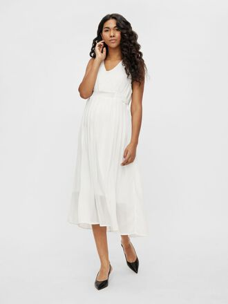 MLGARBO 2-IN-1 MATERNITY MIDI DRESS