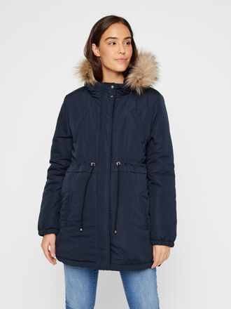 PADDED SHORT MATERNITY PARKA
