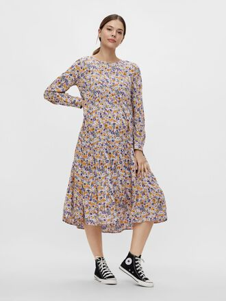 PCMHULLU MATERNITY MIDI DRESS