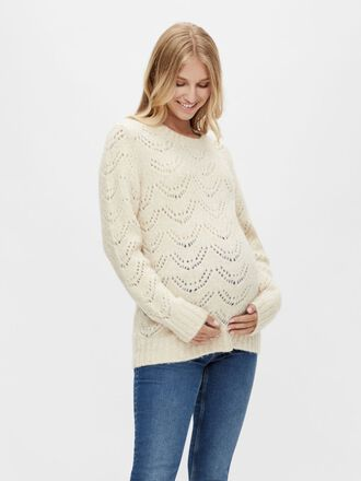 STRUCTUR KNITTED MATERNITY PULLOVER