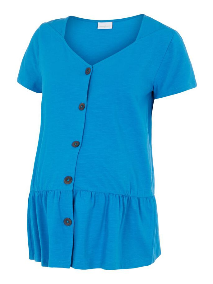 MLREYSA 2-IN-1 MATERNITY TOP, Blue Aster, large