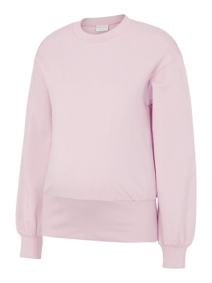 PCMGRIMES MATERNITY SWEATSHIRT, Winsome Orchid, large