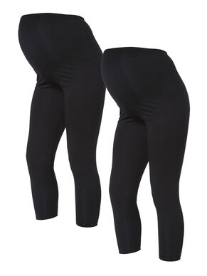 2ER-PACK, BASIC, 3/4 UMSTANDSLEGGINGS