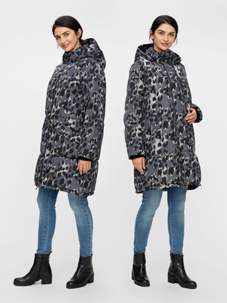 ANIMAL PRINTED 2-IN-1 MATERNITY JACKET