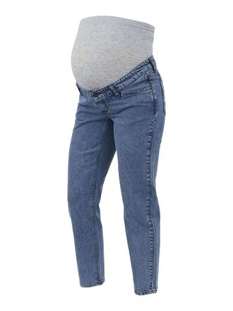 MLTOWN CURVE CROPPED MATERNITY JEANS